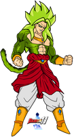 Broly LSSJ4 by Dairon11