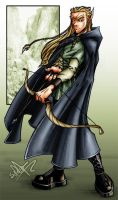 legolas greenleaf color by bumblebee