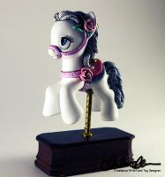 Rose- Carousel Custom MLP by thatg33kgirl