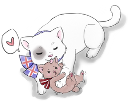 IceLat Cats by Its-All-In-Your-Head