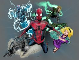 The Amazing Spider-man 2 by TigerArtStudio
