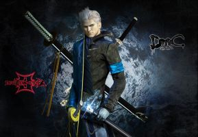 Vergil. DMC 3 vs DmC 5 by Taitiii