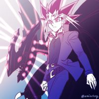 Yugi and his Dragon by Ycajal