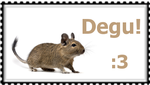 Degu Stamp :3 by MiningForDegus