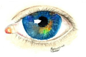 Pipers eye (Day 79) by Hedwigs-art