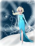 Elsa Frozen by Almost-Toxic