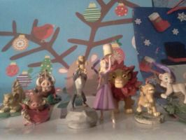 My Disney Christmas ornaments by Heatherannpt