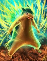 Electric Typhlosion