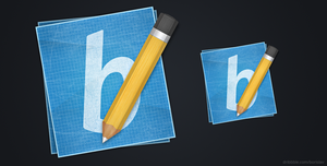 Pencil Icon by borislav-dakov