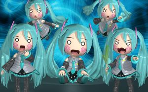 Hachune Miku Invasion by Primantis