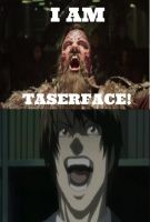 Light Yagami Laughs at Taserface by JasonPictures