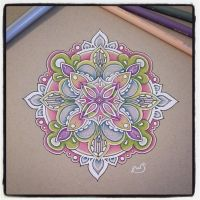 Coloured Mandala by Shanrocket