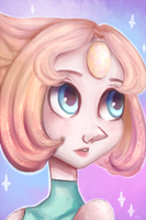 Pearl + Speed Art! by A-Psycho-Banana