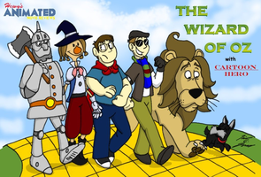 HAMR The Wizard of Oz Title Card by Hewylewis