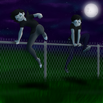 Hopping Fences, Smokin Bitches by Fatal-Insanity