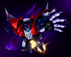TFC- Starscream by BLACK-HEART-SPIRAL