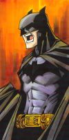 marker : Batman by KidNotorious
