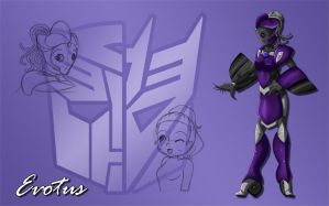 Evotus Wallpaper by LilyOfTheSword