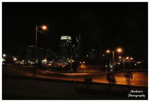 Nashville Skyline At Night by TheMan268
