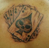 Aces and Eights by LeviSmithArt