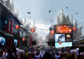 Chinatown by vofff