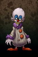 Scary Clown... by edcomics