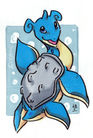 a happy lapras by not-fun
