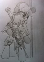 Battlefilly 4 Rainbow Dash Engineer Class by EquestrianMarine