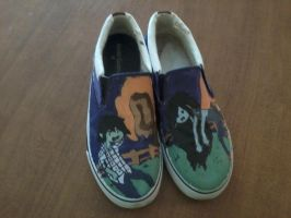 AT Shoes: Marshall Lee and Marceline by Strider-rumps