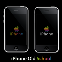 iPhone Old School Wallpaper by KoKaine