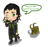 Loki Chibi by Erkillers
