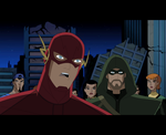 Arrow\The Flash: JLU Style: Barry and Ollie by AMTModollas