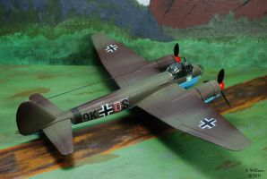 JU-88 Rear View by 12jack12