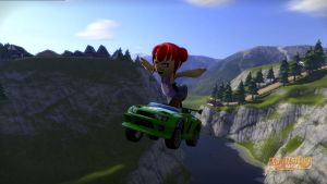 Tina Newbie in Modnation Racers by smithandcompanytoons