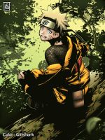 Naruto, flowers by Giilshark