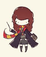 hermione. by agusmp