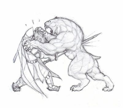 Fight scene by krigg