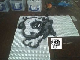 Cubone Hama Bead by hairybeny