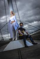 Emma Frost and Scott Summers by supremeoutcast