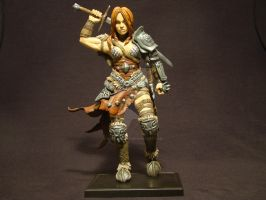 Diablo III, Female Barbarian Contest Entry. by soul-burner