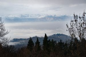 Mountains in Turin, Italy. by AnaYoung