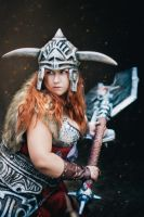 Diablo 3 cosplay Barbarian by Jane-Po