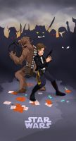 Star Wars - Han Solo cover by spewtank