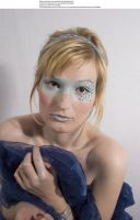 Blue mask 8 by almudena-stock