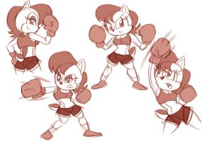 Sally the Boxer by Chauvels