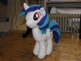 Vinyl Scratch Plushie by GrayTheZebra