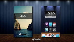 My First Android Theme by iCarloo