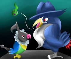 PokemonAntiBullying: Quiet Chatot Gone Silent by 13Z-Stars