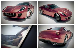 ferrari 599 - flight sim model by modular9