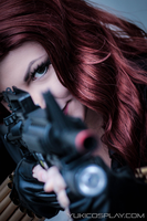 Black Widow -  I've got you in my sights by Yukilefay